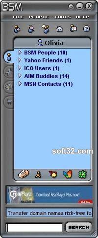 Blowsearch Secured Messenger Screenshot