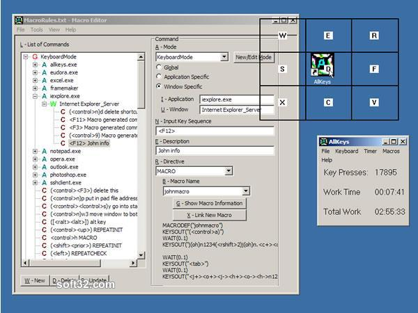 AllKeys Macro Screenshot 2
