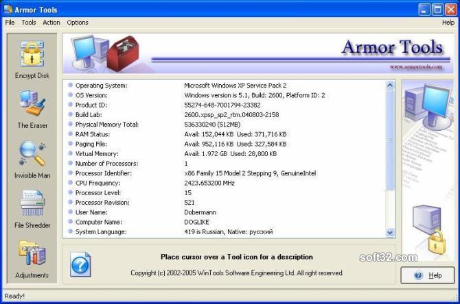 Armor Tools Screenshot 3