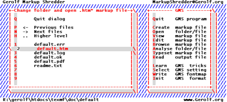 Gerolf Markup Shredder Screenshot 1
