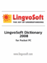 LingvoSoft Talking Dictionary German <-> Czech for Pocket PC 1