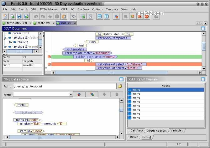 EditiX XML Editor (for Linux/Unix) Screenshot 3