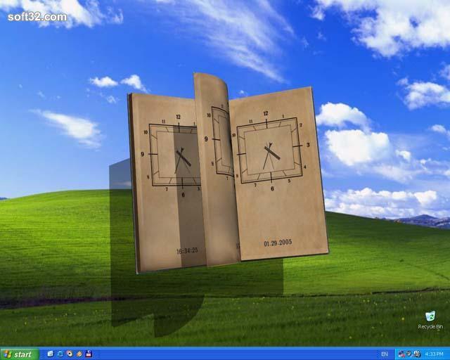 Book Of Time 3D Screensaver Screenshot 2