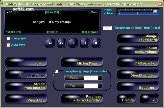 Active Sound Studio Screenshot 2