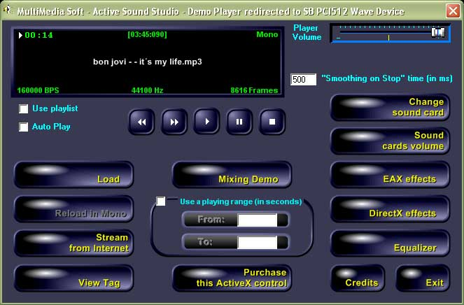 Active Sound Studio Screenshot 1