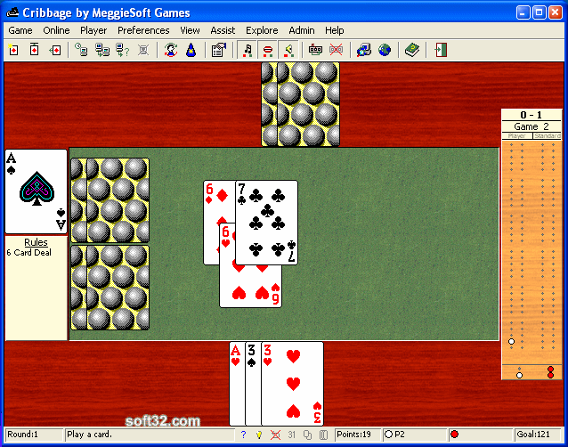 Cribbage by MeggieSoft Games Screenshot 3