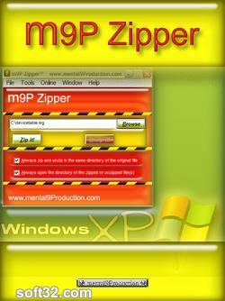 m9P Zipper Screenshot