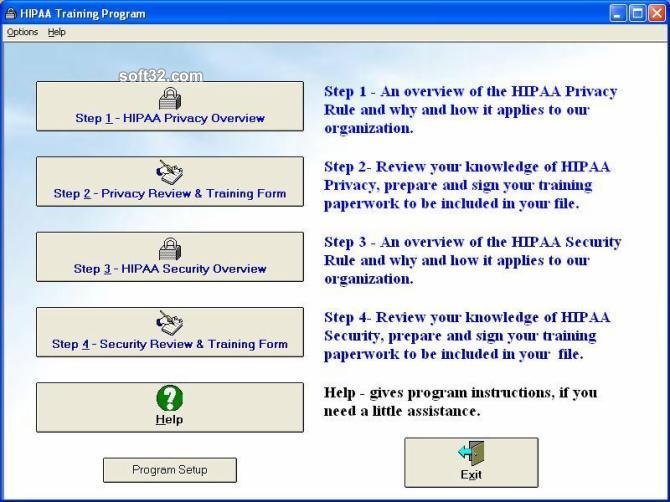 HIPAA Training Program Screenshot 2