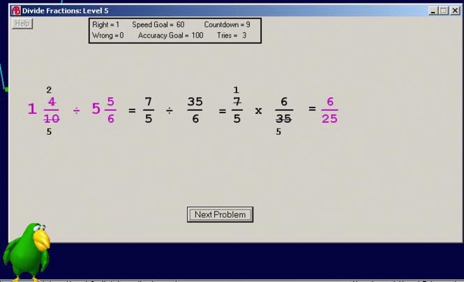 Abilities Builder Fractions Plus Screenshot 2