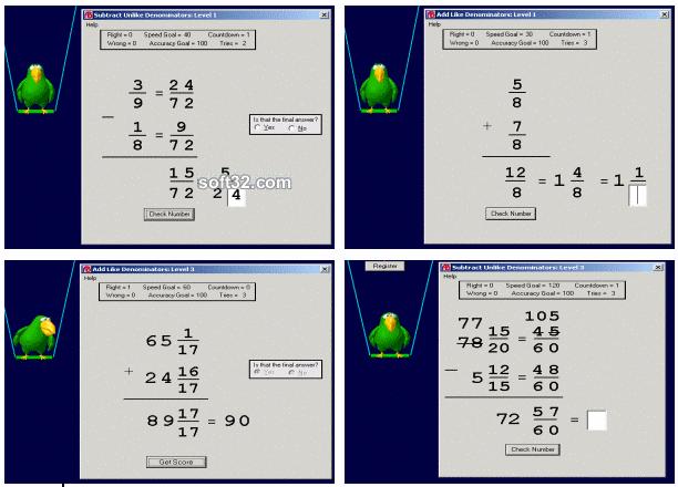 Abilities Builder Fractions Plus Screenshot 3