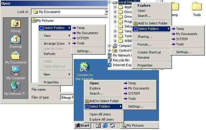 Select Folder Express Screenshot 1