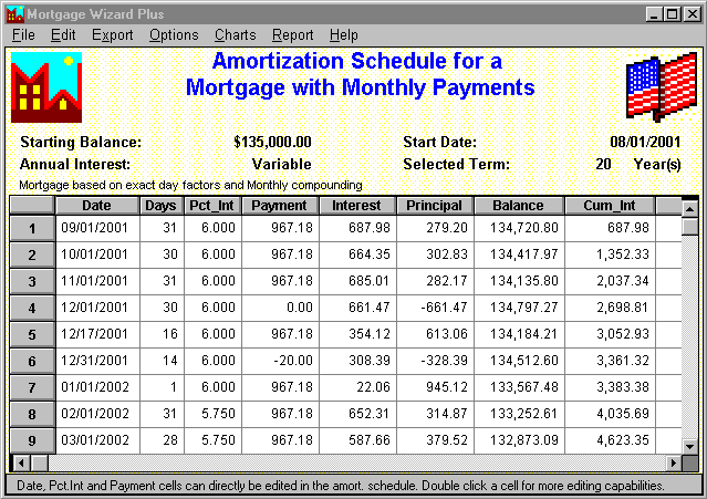 Mortgage Wizard Plus Screenshot 1