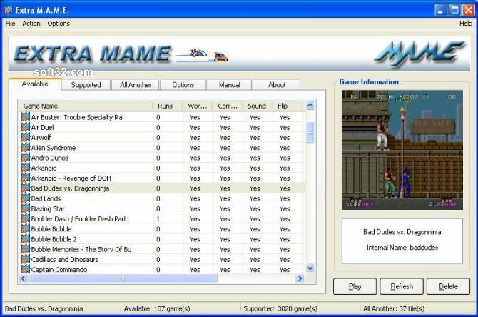 ExtraMAME 2009 Screenshot 3