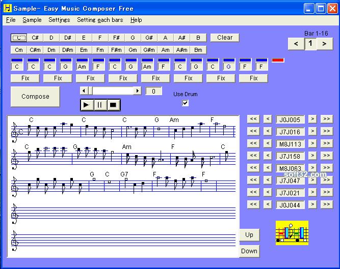 Easy Music Composer Free Screenshot 3
