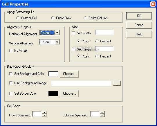 PageBreeze Free HTML Editor Screenshot 4