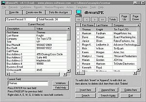dBworxPE Screenshot