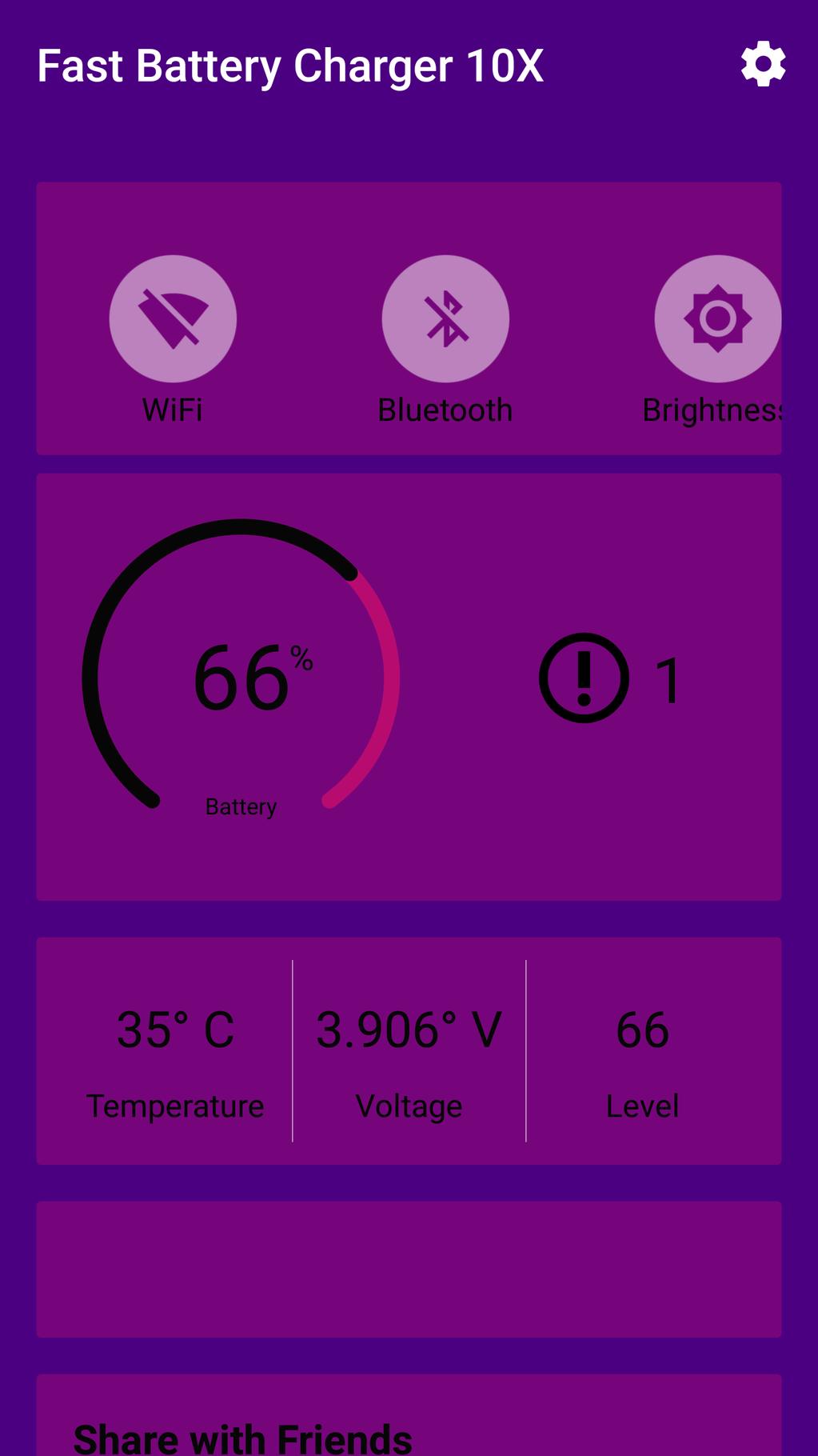 Fast Battery Charging Screenshot