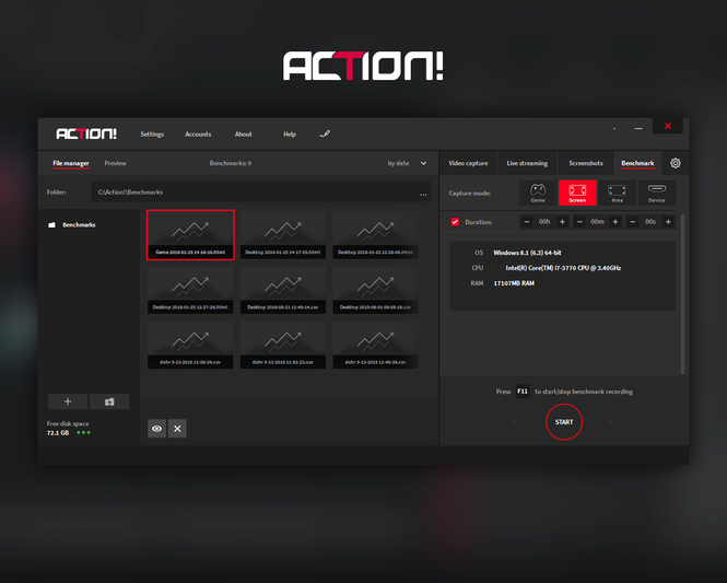Action! - Screen and game recorder Screenshot 4