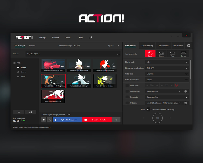 Action! - Screen and game recorder Screenshot 6