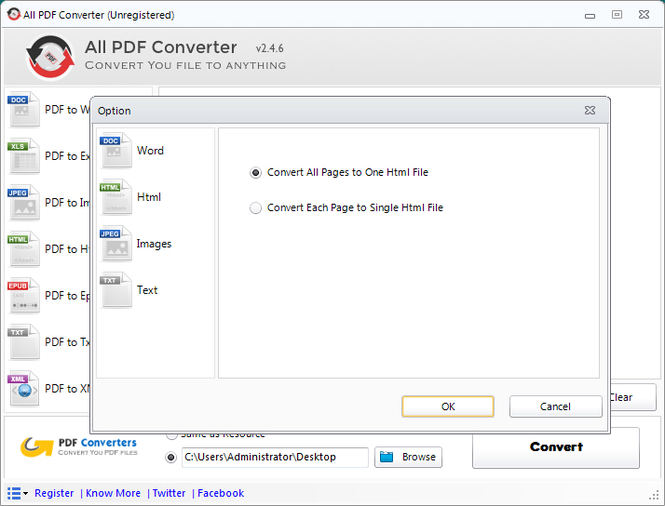 All PDF Converter Screenshot 3