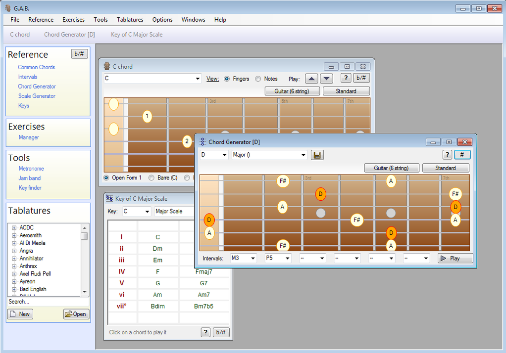 Guitar and Bass Screenshot 1