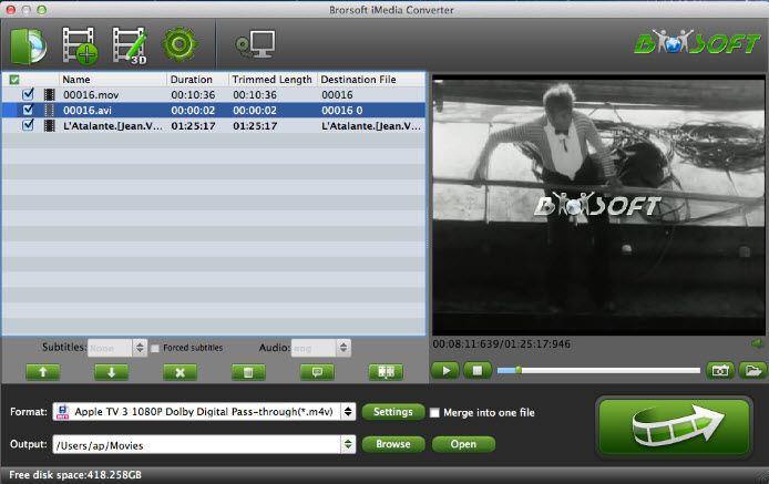 Brorsoft Video Converter Ultimate 4.9.0.1 Screenshot