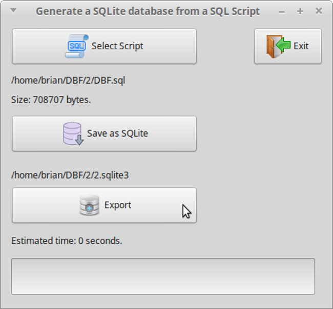 REAL DBF2SQL Screenshot 6