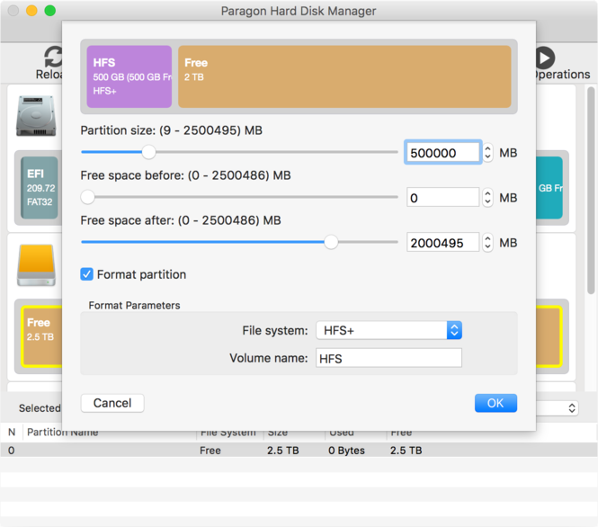 Hard Disk Manager for Mac Screenshot 3
