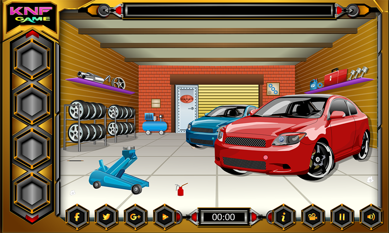 Escape Games - Car Workshop Screenshot 2