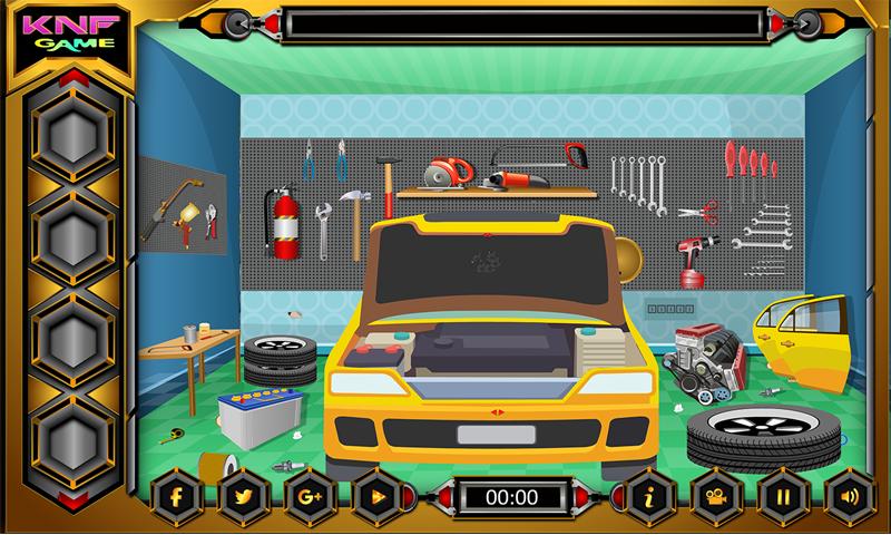 Escape Games - Car Workshop Screenshot 3