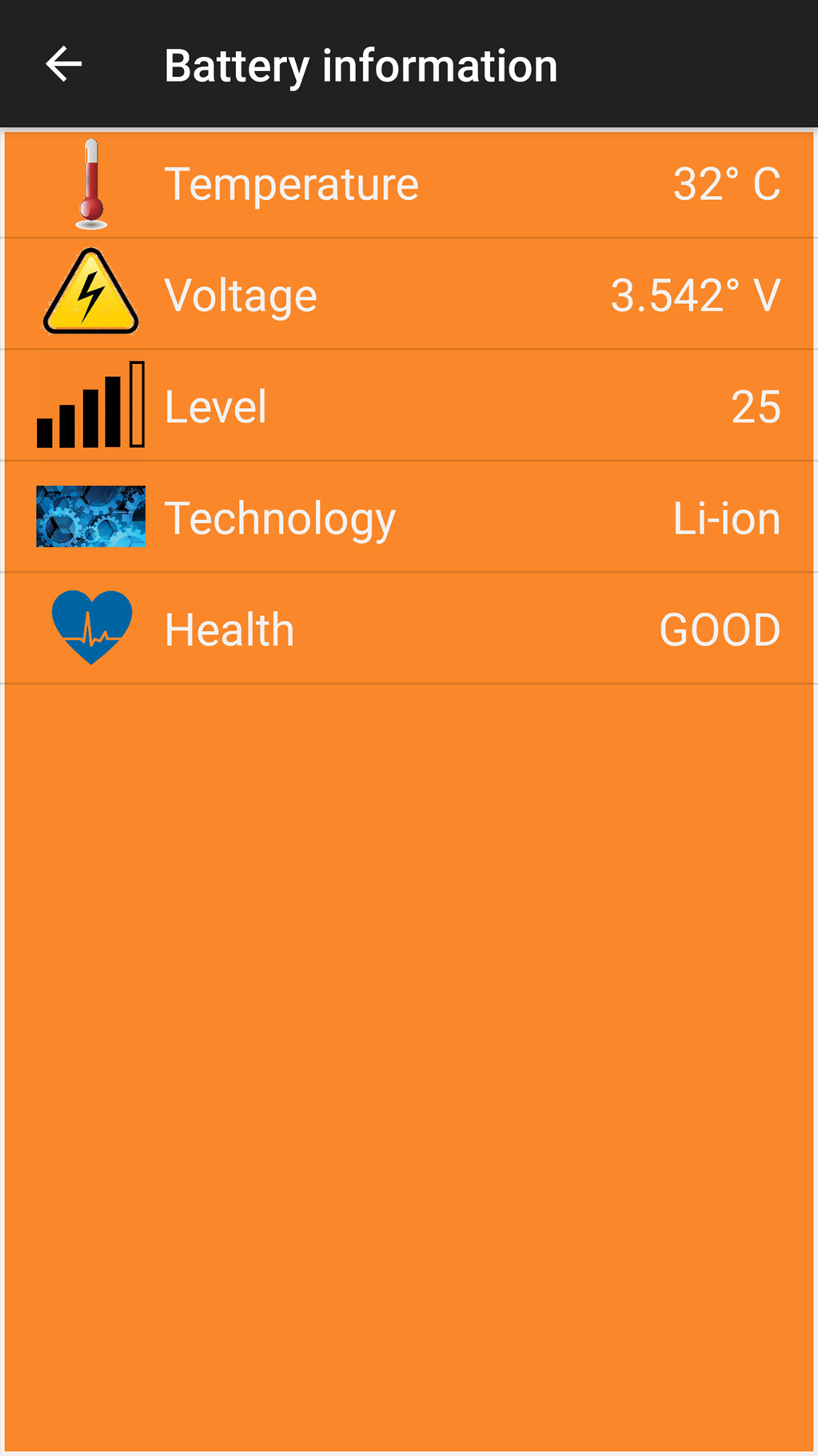 Smart Battery Charger Alarm Screenshot 3