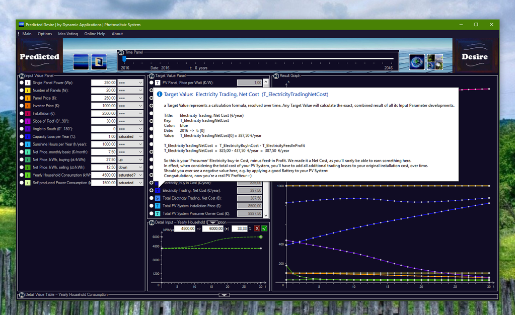 Photovoltaic System Screenshot 2