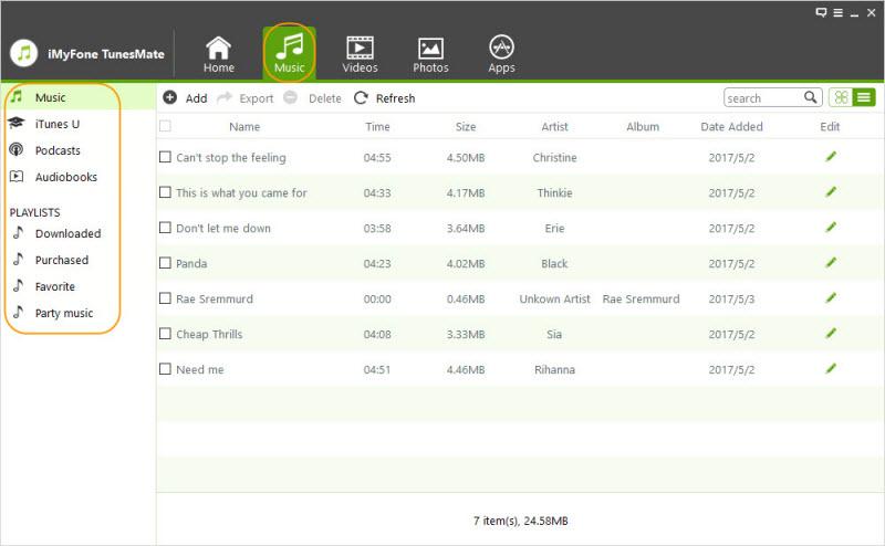 iMyFone TunesMate Screenshot 2