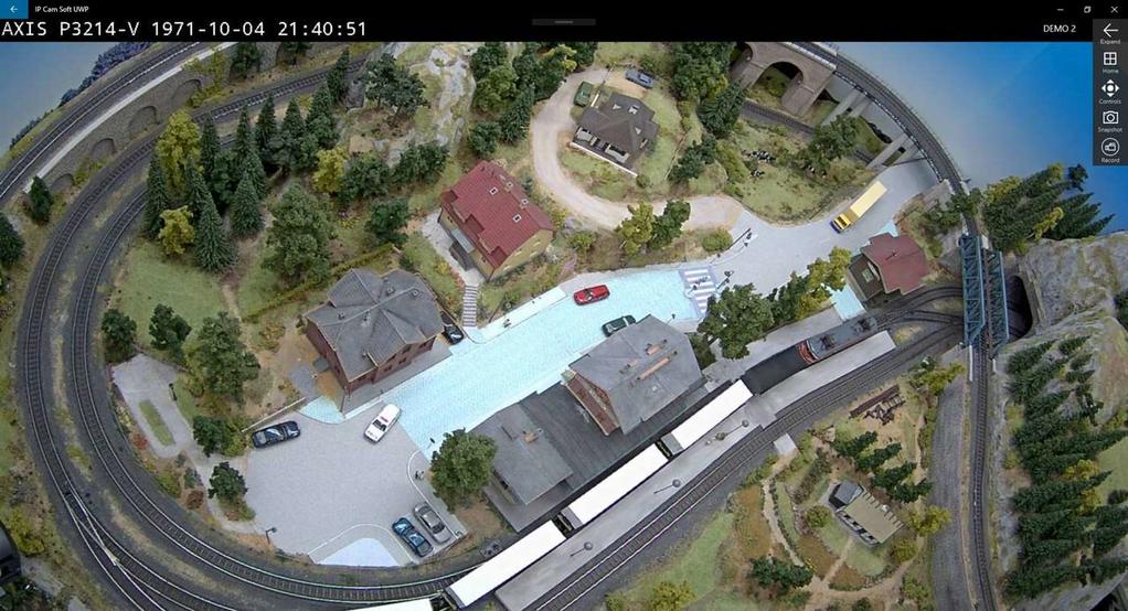 IP Cam Soft UWP Screenshot 2