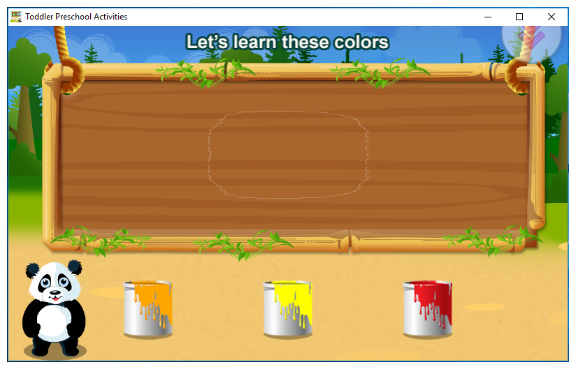 Toddler Preschool Activities Screenshot