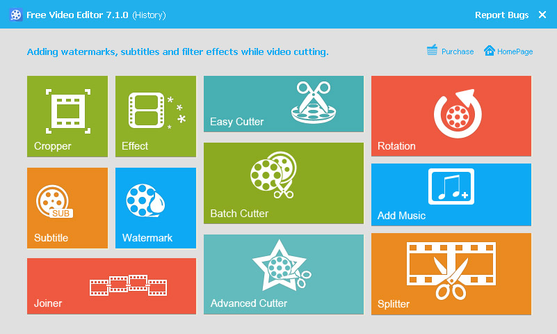video effect editing software free download