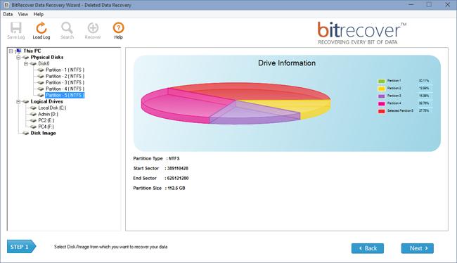 Data Recovery Wizard Screenshot 2