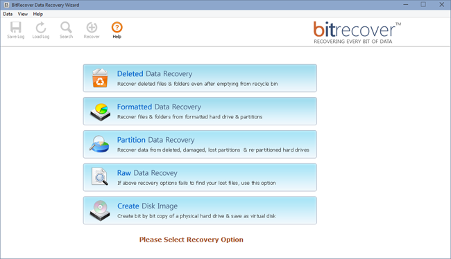 Data Recovery Wizard Screenshot