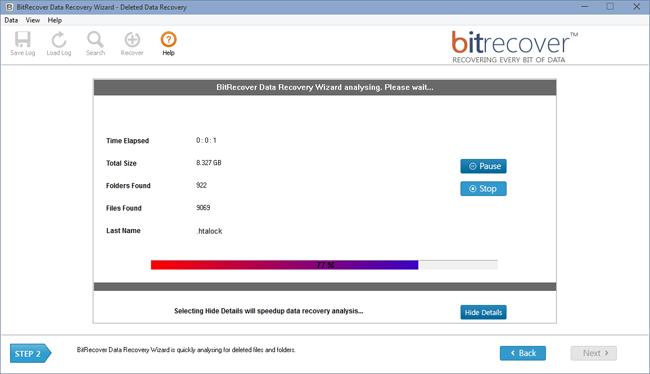 Data Recovery Wizard Screenshot 3
