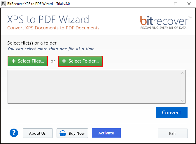 XPS to PDF Wizard Screenshot 4