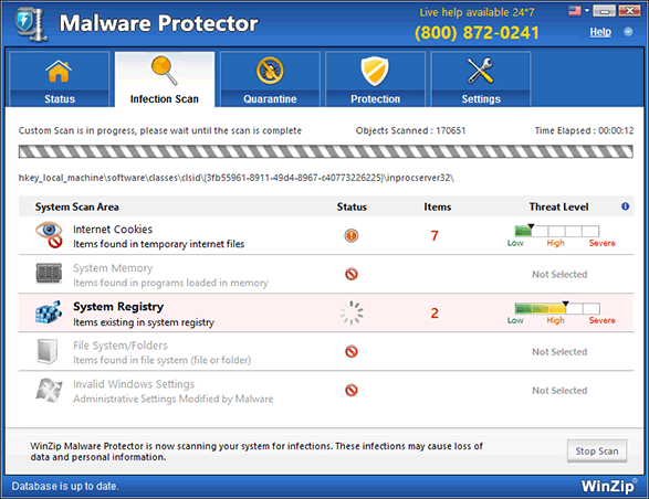 WinZip Malware Protector Screenshot 4