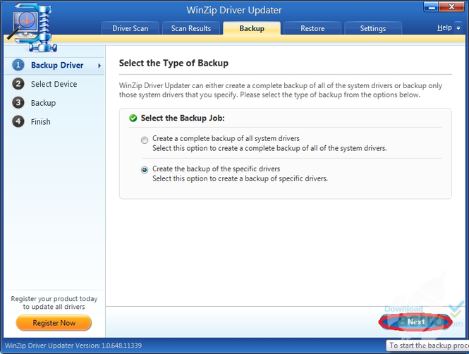 WinZip Driver Updater Screenshot 3