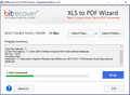XLS to PDF Wizard 3