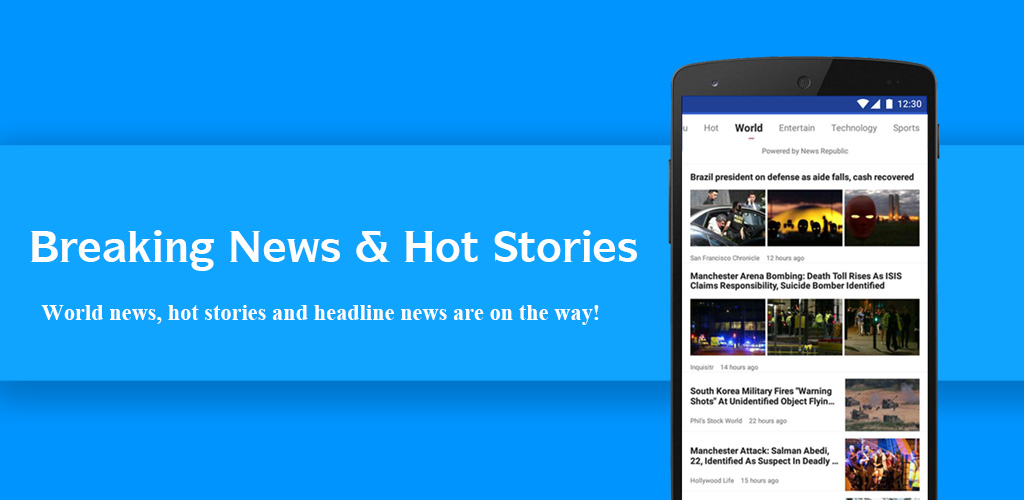 Breaking News & Hot Stories Screenshot