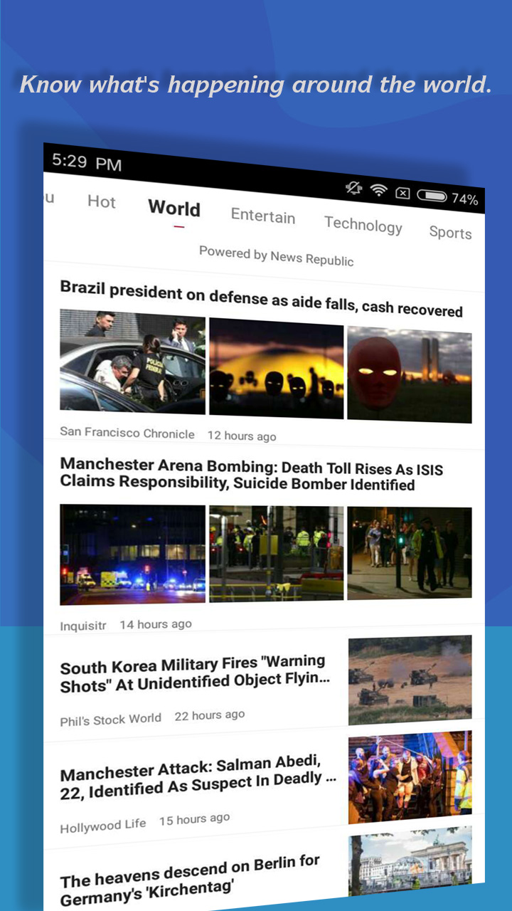 Breaking News & Hot Stories Screenshot 3