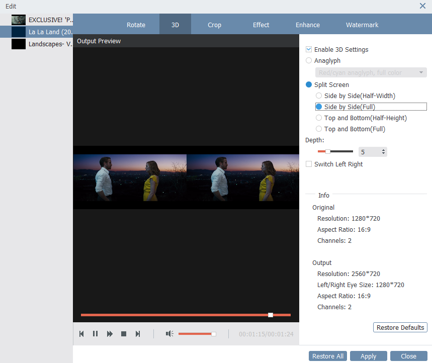 VideoSolo Video Converter Ultimate Screenshot