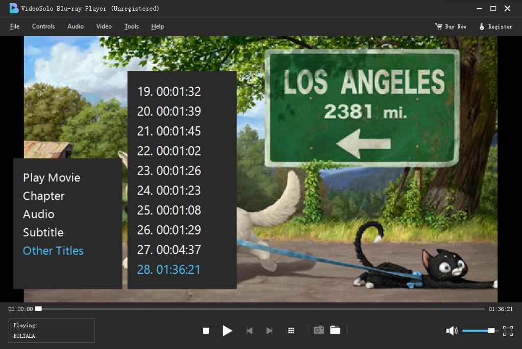VideoSolo Blu-ray Player Screenshot 4