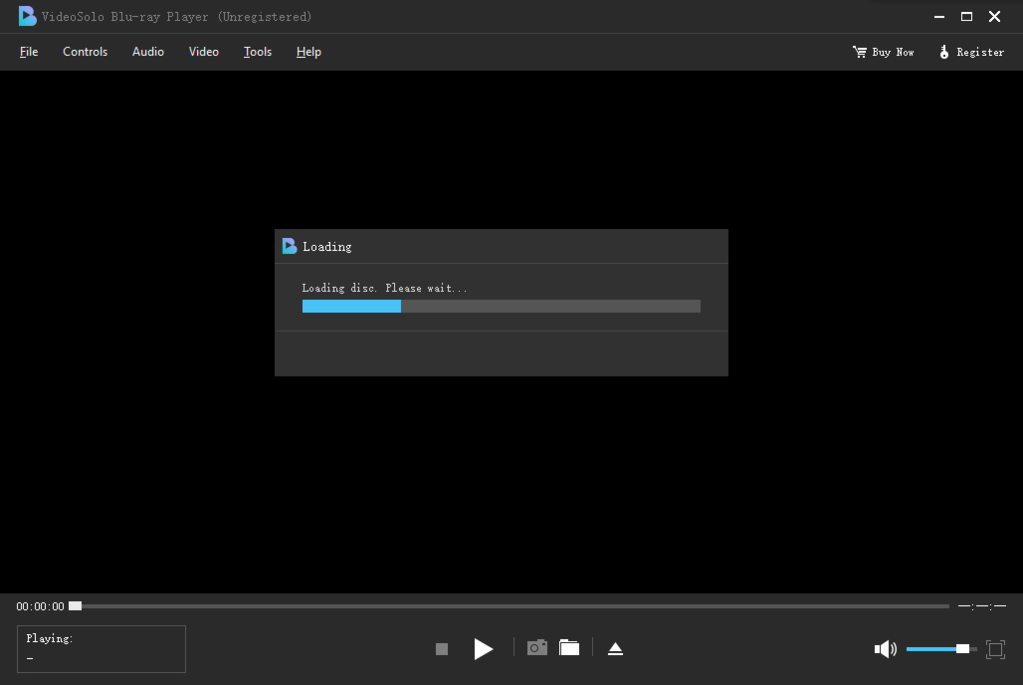 VideoSolo Blu-ray Player Screenshot 2