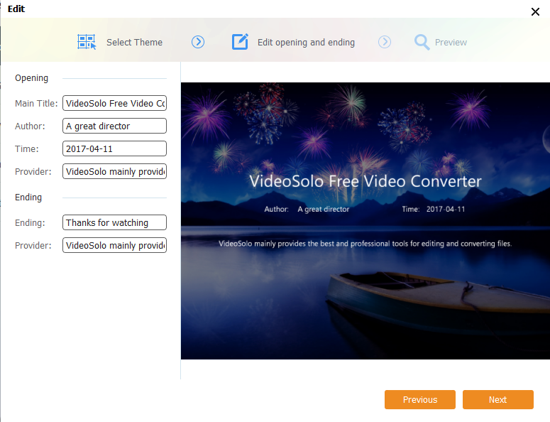VideoSolo Free Video Converter Screenshot 2