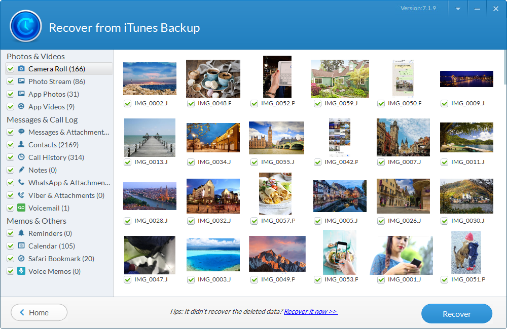 Jihosoft iPhone Backup Extractor Screenshot 4